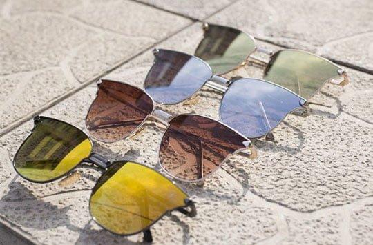 Avvero lentile colorate cu protectie solara